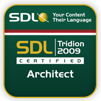 SDL Tridion certified architect 2009 thumb