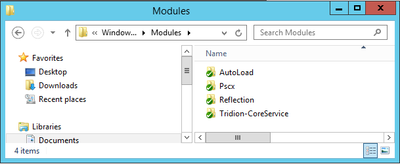 My Modules folder